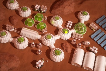 Human colony on Mars