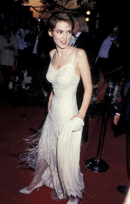 Winona Ryder at the 1994 Oscars.