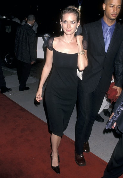 Winona Ryder at the premiere of Eyes Wide Shut in 1999.