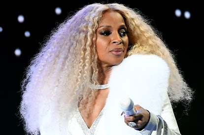 Mary J. Blige debuted voluminous curls at the 2019 BET Awards.