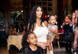 Kim Kardashian West is now a single mom of four.