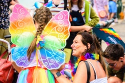 Celebrating Pride as a family is a great way to show your child how to support and love others.