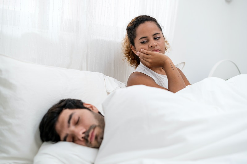 Red flags to look out for during sex include a lack of eye contact and kissing.