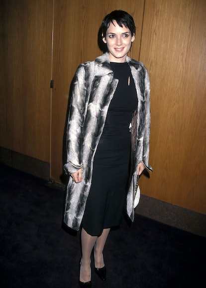 Winona Ryder at the Joan of Arc 50th Anniversary Screening in 1998.