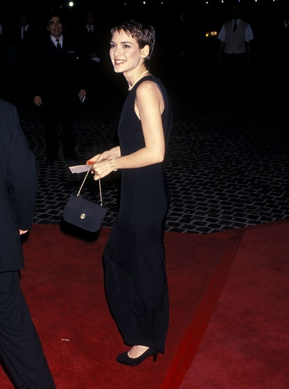 Winona Ryder at the 1994 Golden Globes.