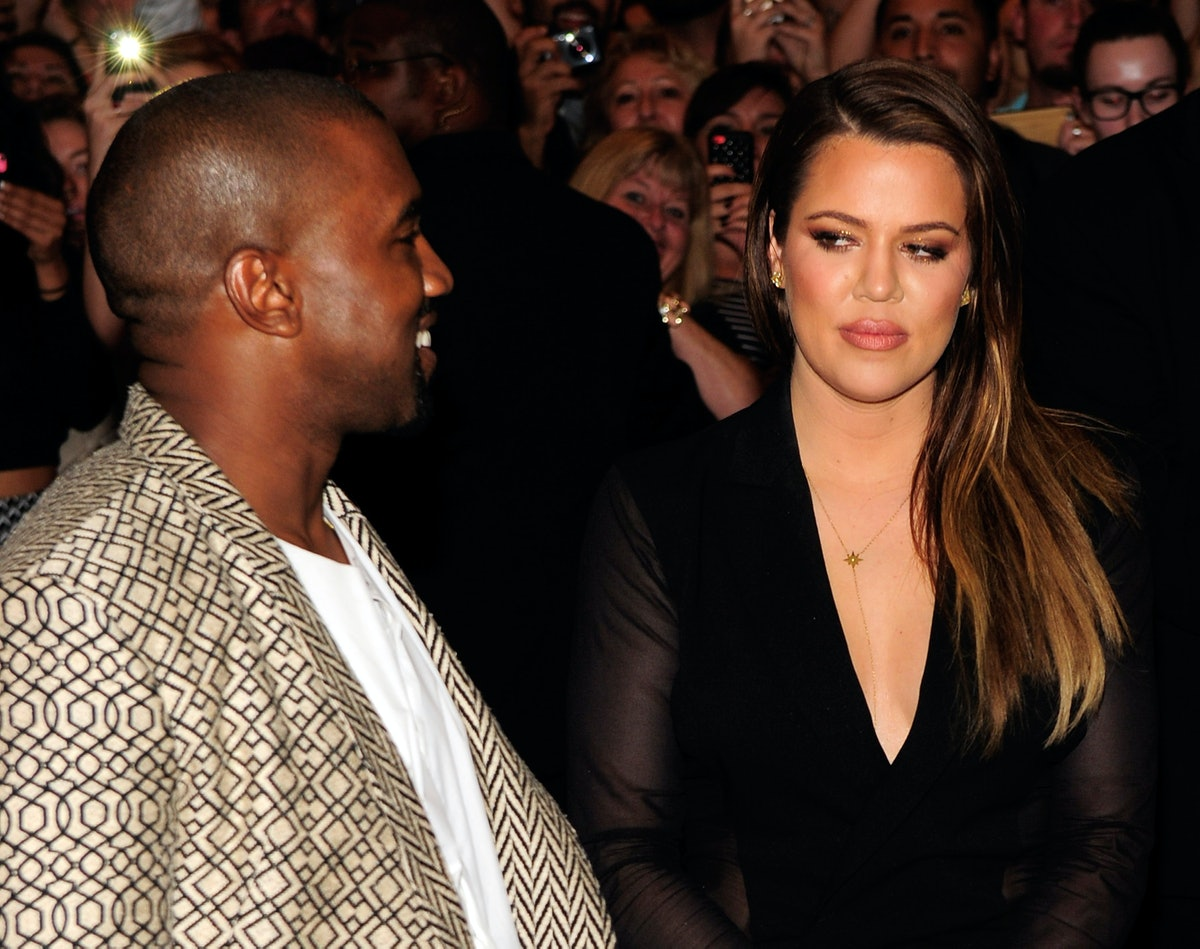 LAS VEGAS, NV - OCTOBER 24:  Musician Kanye West and television personality Khole Kardashian arrive at the Tao Nightclub at the Venetian Resort Hotel Casino on October 24, 2014 in Las Vegas, Nevada.  (Photo by Steven Lawton/FilmMagic)