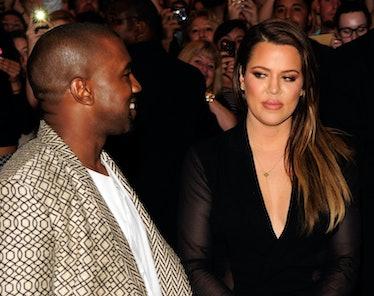 LAS VEGAS, NV - OCTOBER 24:  Musician Kanye West and television personality Khole Kardashian arrive ...