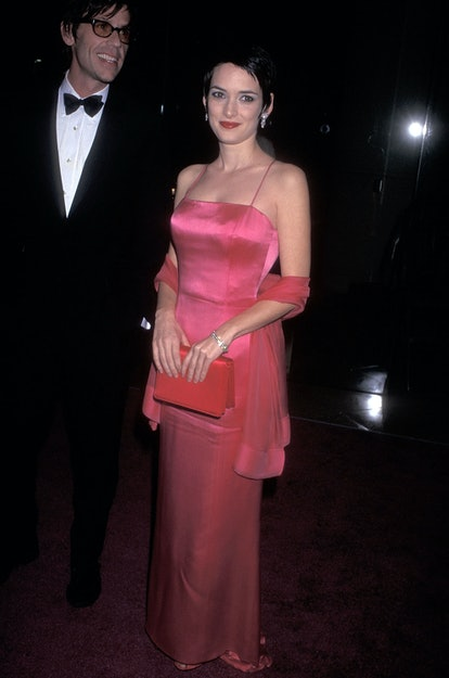 Winona Ryder at the AFI Lifetime Achievement Award Salute to Martin Scorsese in 1997.