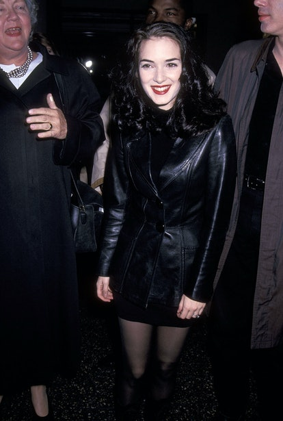 Winona Ryder at the Night on Earth premiere in 1992.