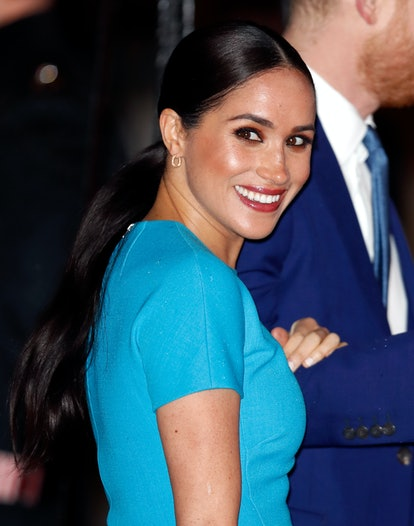 LONDON, UNITED KINGDOM - MARCH 05: (EMBARGOED FOR PUBLICATION IN UK NEWSPAPERS UNTIL 24 HOURS AFTER CREATE DATE AND TIME) Meghan, Duchess of Sussex attends The Endeavour Fund Awards at Mansion House on March 5, 2020 in London, England. (Photo by Max Mumby/Indigo/Getty Images)