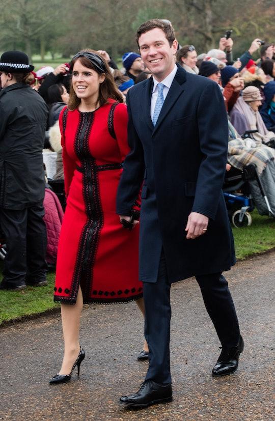 Princess Eugenie and Jack Brooksbank are proud parents.