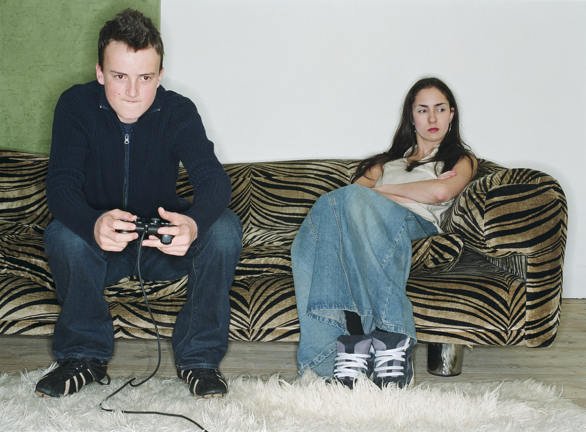 Couple in an almost-relationship that's going nowhere spend time together.