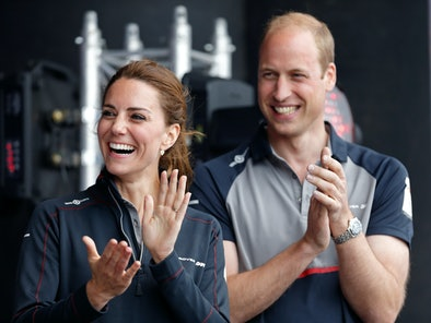 Kate and Will often show parallelism in their body language.