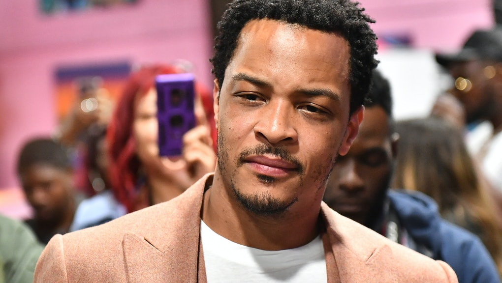 ATLANTA, GEORGIA - MAY 03:  T.I. attends International Trap Night With Nasty C & T.I. at Trap Music Museum on May 03, 2021 in Atlanta, Georgia. (Photo by Paras Griffin/Getty Images)