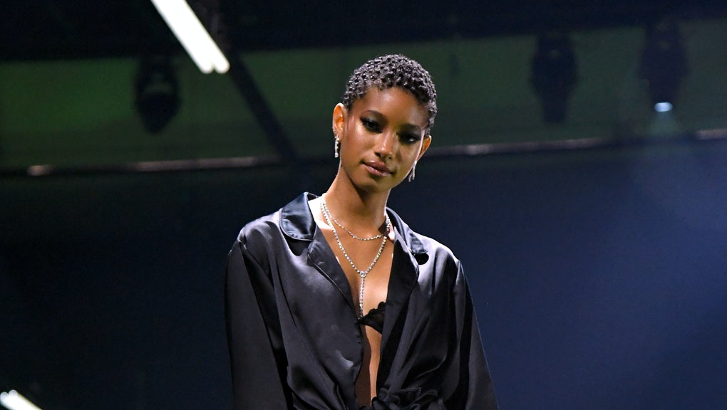 LOS ANGELES, CALIFORNIA - OCTOBER 02: In this image released on October 2, Willow Smith is seen onst...