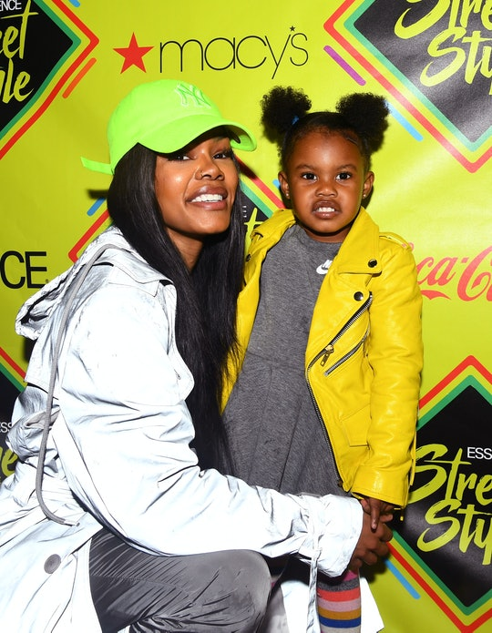 BROOKLYN, NY - SEPTEMBER 09:  Teyana Taylor and daughter Junie attend 2018 Essence Street Style Fest...