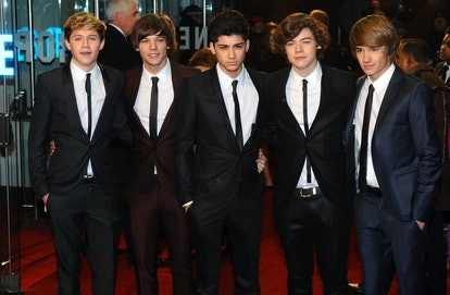 LONDON-November 30: X Factor Finalists One Direction attend 'The Chronicles of Narnia: The Voyage of the Dawn Treader' World Premiere at the Odeon Cinema, Leicester Square on November 30, 2010 in London. (Photo by Anthony Harvey/Getty Images)