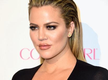 WEST HOLLYWOOD, CA - OCTOBER 12:  TV personality Khloe Kardashian attends Cosmopolitan's 50th Birthd...