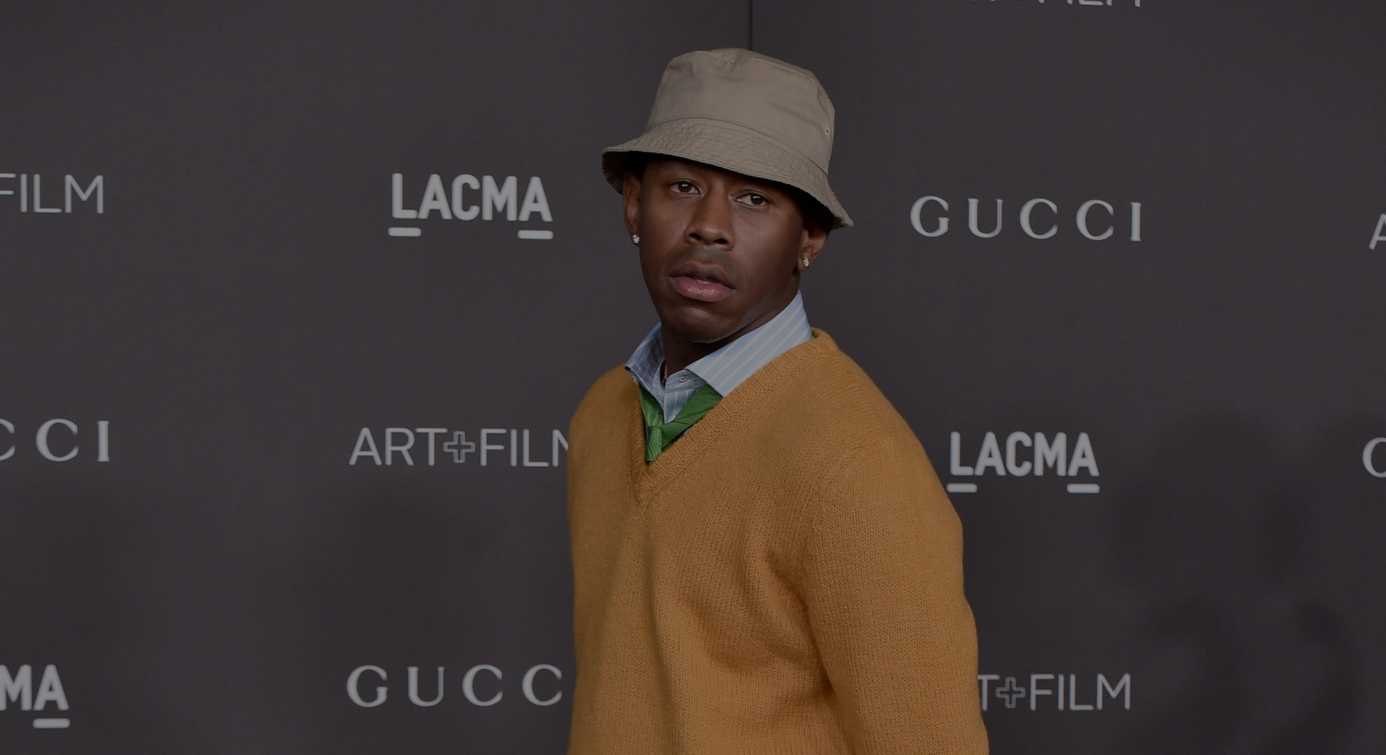 LOS ANGELES, CALIFORNIA - NOVEMBER 02: Tyler, the Creator attends the 2019 LACMA Art + Film Gala Pre...