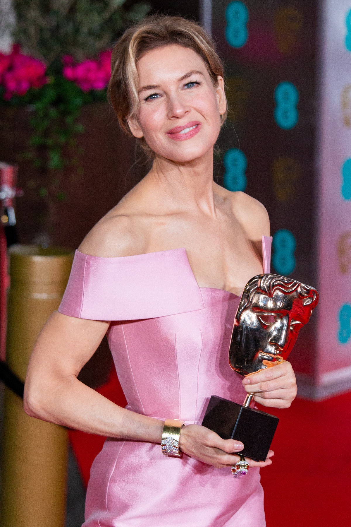 Renee Zellweger attends the EE British Academy Film Awards 2020 After Party at The Grosvenor House H...