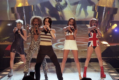 Spice Girls Performing Brit Awards 1997