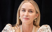 """NEW YORK, NEW YORK - MARCH 08: Emily Blunt at the """"A Quiet Place Part II"""" Press Conference at the Ma..."""
