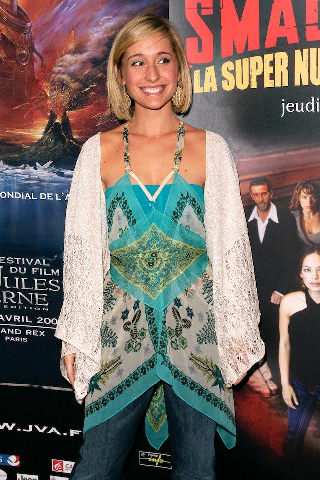 "Allison Mack during 13th Jules Verne Film Festival - ""Smallville"" Season IV Premiere at Rex Theatre ..."