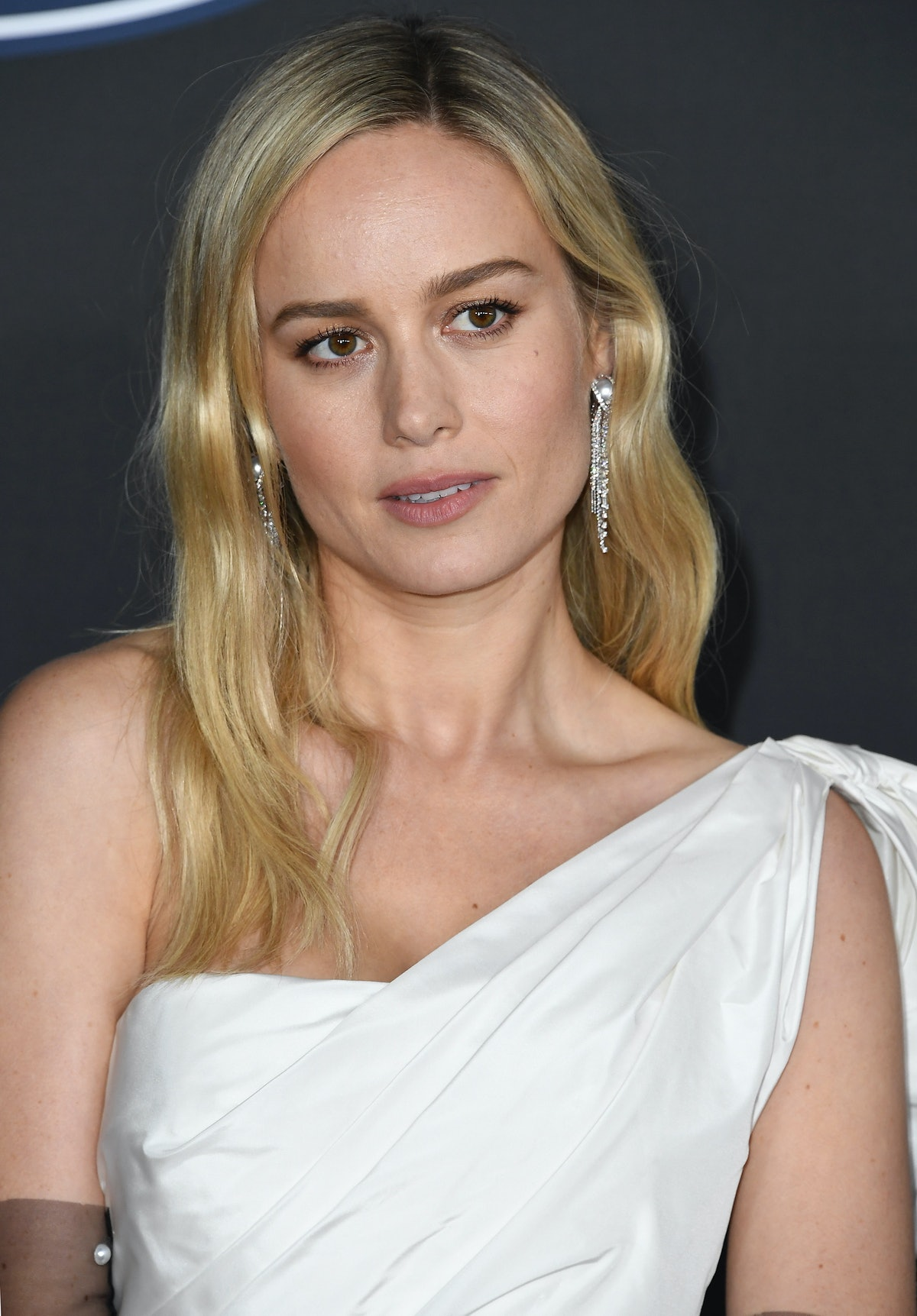 PASADENA, CALIFORNIA - FEBRUARY 22: Brie Larson arrives at the 51st NAACP Image Awards on February 2...