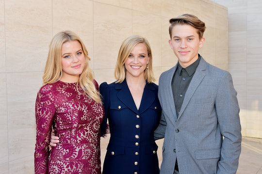 HOLLYWOOD, CALIFORNIA - DECEMBER 11: (l-R) Ava Elizabeth Phillippe,  honoree Reese Witherspoon, and ...