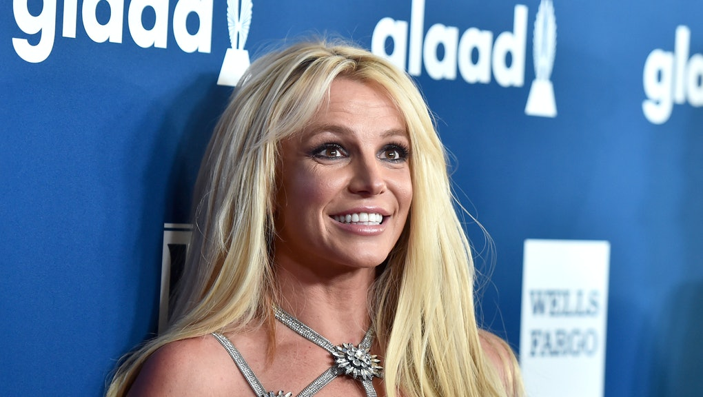 BEVERLY HILLS, CA - APRIL 12:  Honoree Britney Spears attends the 29th Annual GLAAD Media Awards at ...