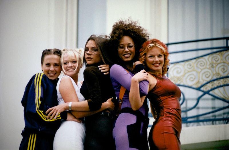 Les Spice Girls au Festival de Cannes le 11 mai 1997, France. (Photo by Pool ARNAL/CATARINA/CHARRIAU/GERAL/Gamma-Rapho via Getty Images)