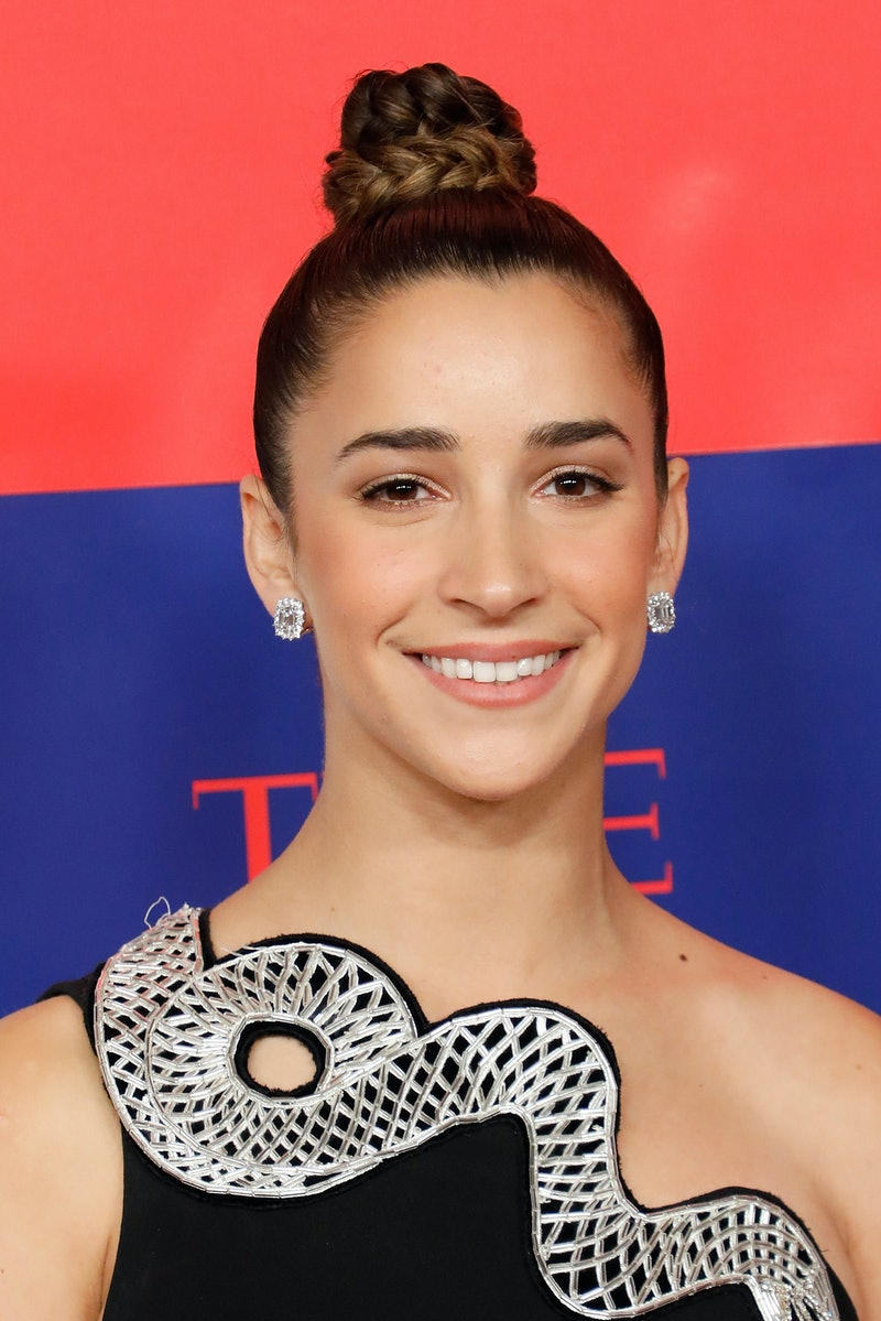 NEW YORK, NEW YORK - NOVEMBER 14: Aly Raisman attends Time 100 Next at Pier 17 on November 14, 2019 in New York City. (Photo by Taylor Hill/FilmMagic)