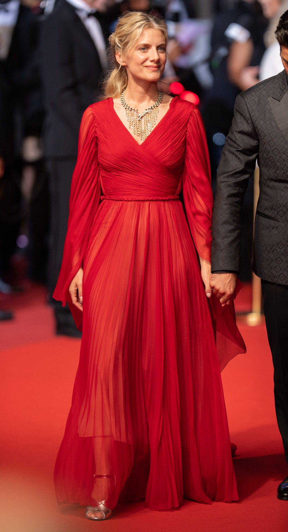 """CANNES, FRANCE - JULY 11: Melanie Laurent attends the """"Flag Day"""" photocall during the 74th annual Cannes Film Festival on July 11, 2021 in Cannes, France. (Photo by Samir Hussein/WireImage)"""