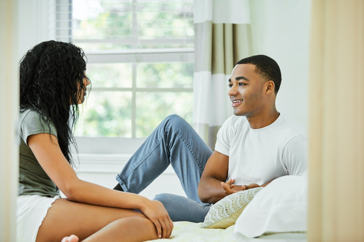 If your boyfriend never initiates intimacy, have a conversation about it.