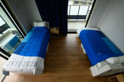 The 2021 Olympic Villages has recyclable cardboard beds and mattresses for athletes.