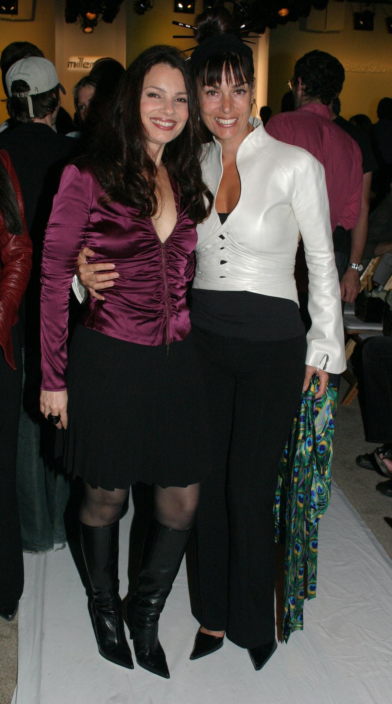 LOS ANGELES - OCTOBER 29:    Actress Fran Drescher and Brenda Cooper attend the Miller Girl@Nicole M...