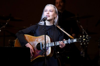 NEW YORK, NEW YORK - FEBRUARY 26: Phoebe Bridgers perform on stage during the 33nd Annual Tibet Hous...
