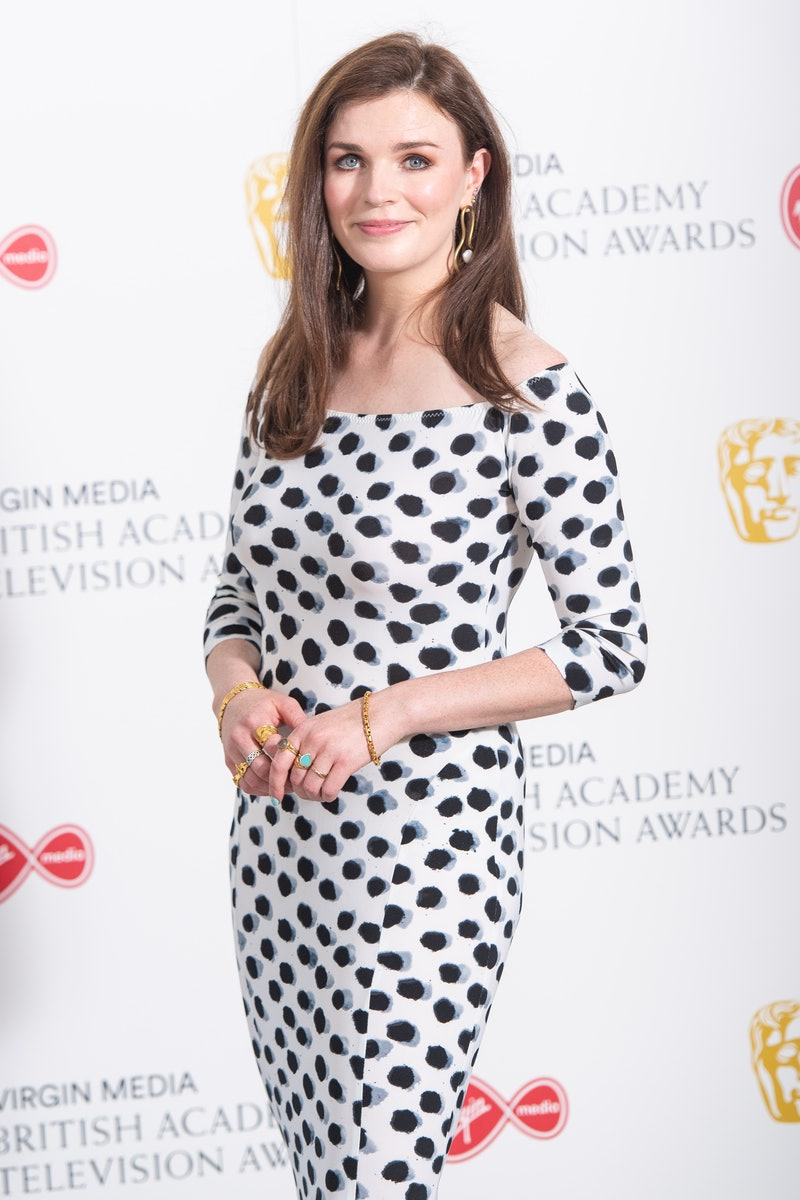Aisling Bea arrives for the Virgin Media BAFTA TV awards at the TV Centre, Wood Lane, London. Due to...