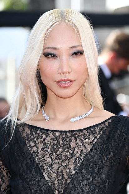 """CANNES, FRANCE - JULY 08: Soo Joo Park attends the """"Stillwater"""" screening during the 74th annual Can..."""