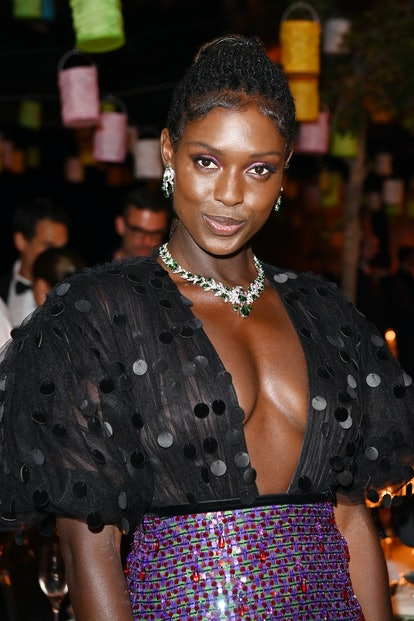 CANNES, FRANCE - JULY 11: Jodie Turner-Smith attends Kering Women In Motion Awards Dinner on July 11...