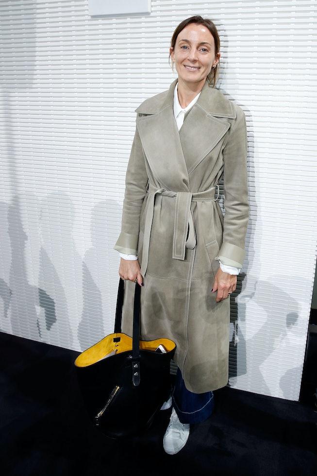 PARIS, FRANCE - JUNE 16:  Designer Phoebe Philo attends the LVMH Prize 2016 Young Fashion Designer a...