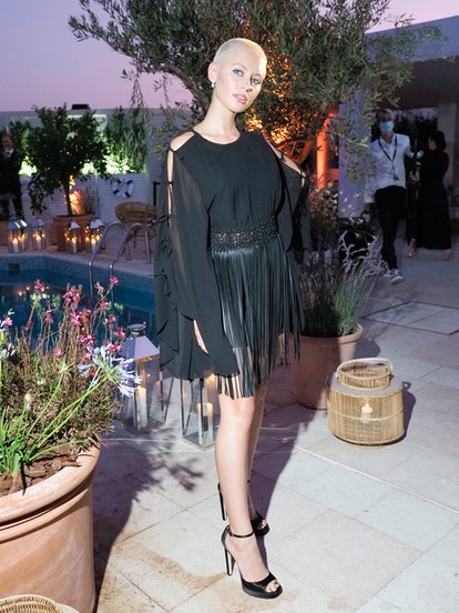 CANNES, FRANCE - JULY 10: Iris Law attends the Dior dinner during the 74th annual Cannes Film Festiv...