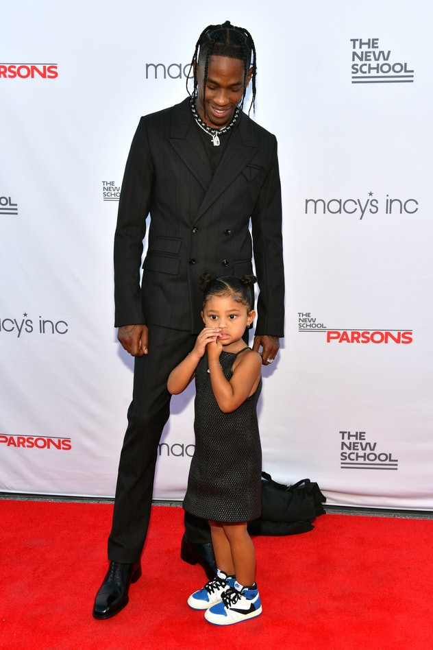 Travis Scott has one daughter, Stormi Webster, with Kylie Jenner.
