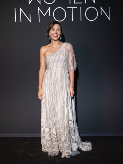 CANNES, FRANCE - JULY 11: Maggie Gyllenhaal attends the Kering Women In Motion Awards during the 74t...