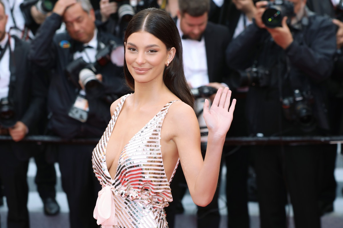 """CANNES, FRANCE - MAY 18: Camila Morrone attends the screening of """"Les Plus Belles Annees D'Une Vie"""" ..."""