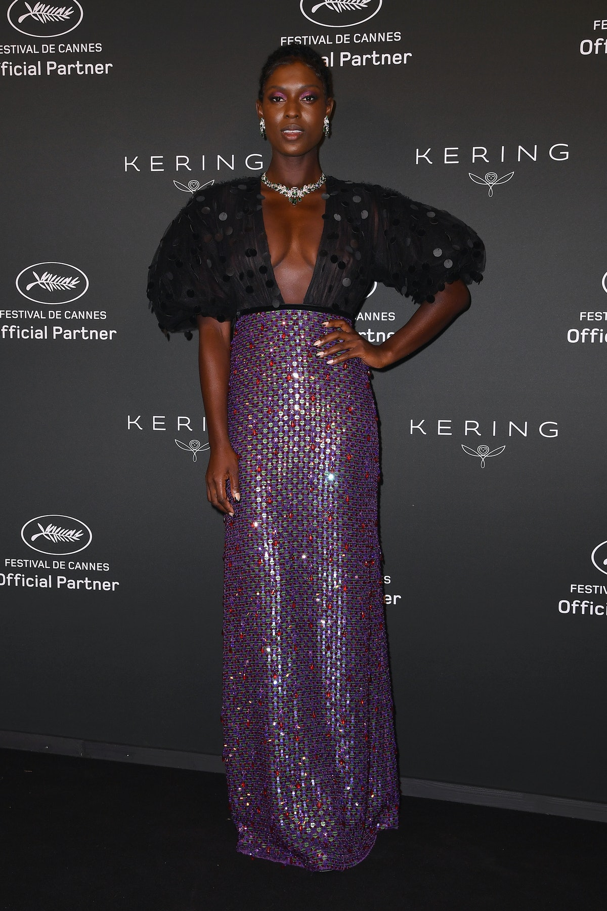 CANNES, FRANCE - JULY 11: Jodie Turner-Smith attends the Kering Women In Motion Awards during the 74th annual Cannes Film Festival on July 11, 2021 in Cannes, France. (Photo by Stephane Cardinale - Corbis/Corbis via Getty Images)