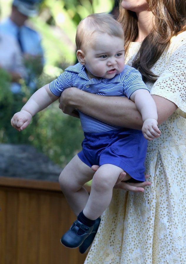 Prince George gets casual at the zoo.