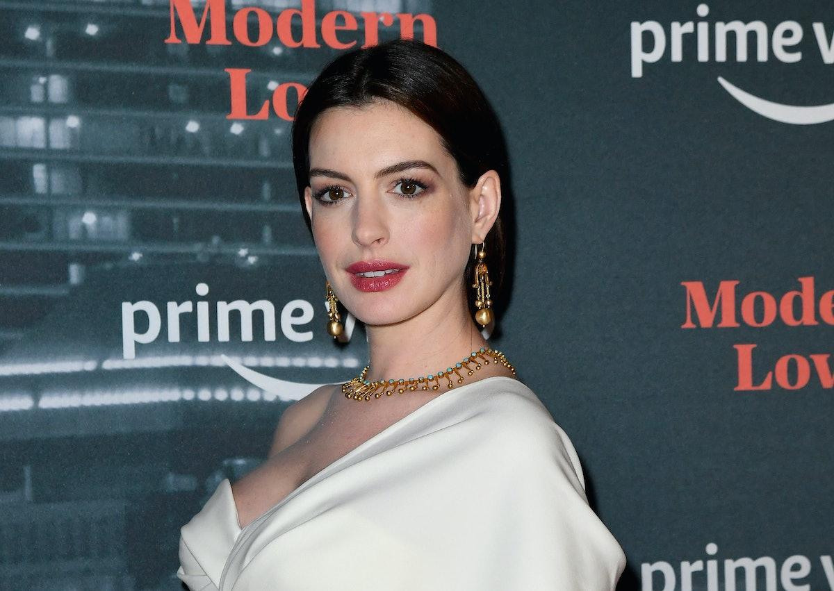 Anne Hathaway is a celebrity who has rhythm.