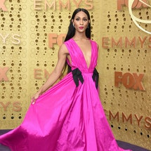 Mj Rodriguez, who played Blanca on 'Pose,' was nominated for Outstanding Lead Actress in a Drama Series during the July 13 Emmy nominations livestream. Photo via Getty Images