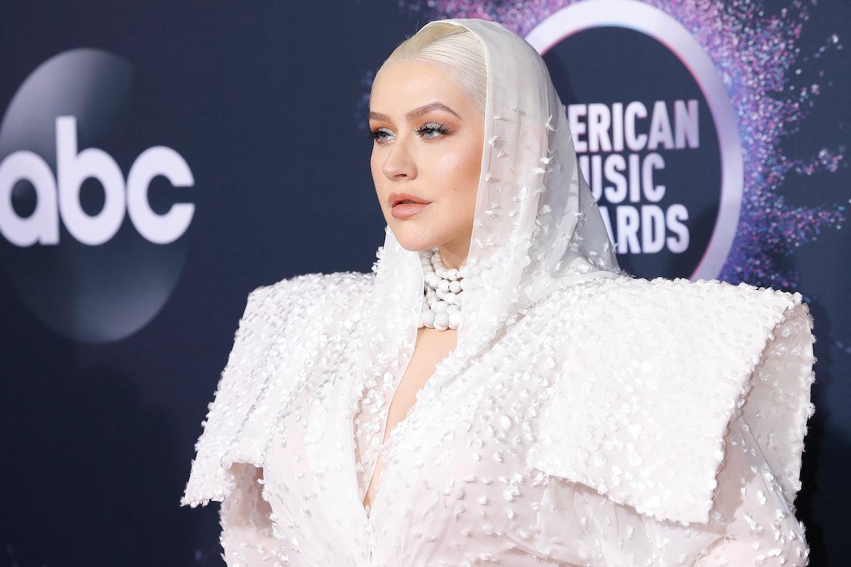 Christina Aguilera is a kinky celebrity who likes to wear wigs.